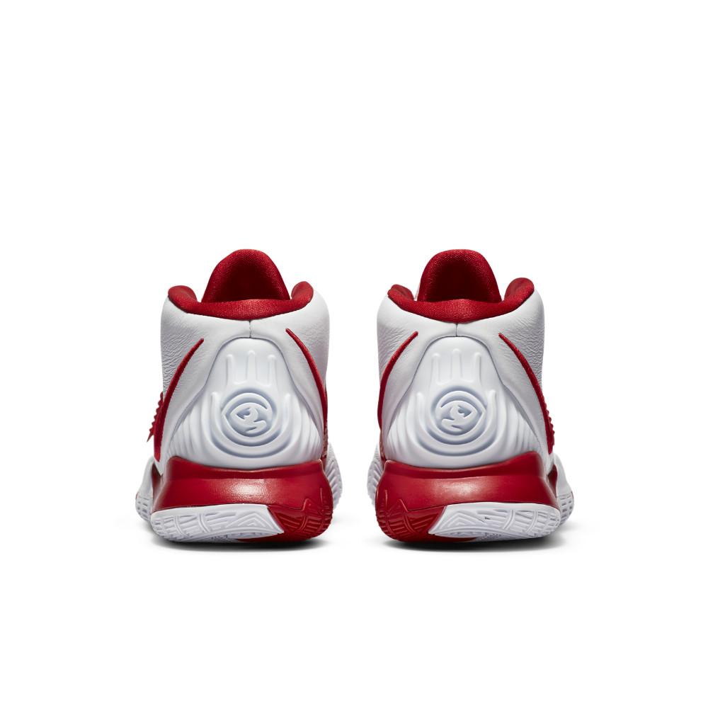 NIKE ナイキ カイリー 6 TB EP バスケットボールシューズ CZ4938-100(ホワイト/ユニバーシティレッド/ホワイト) 20FA
