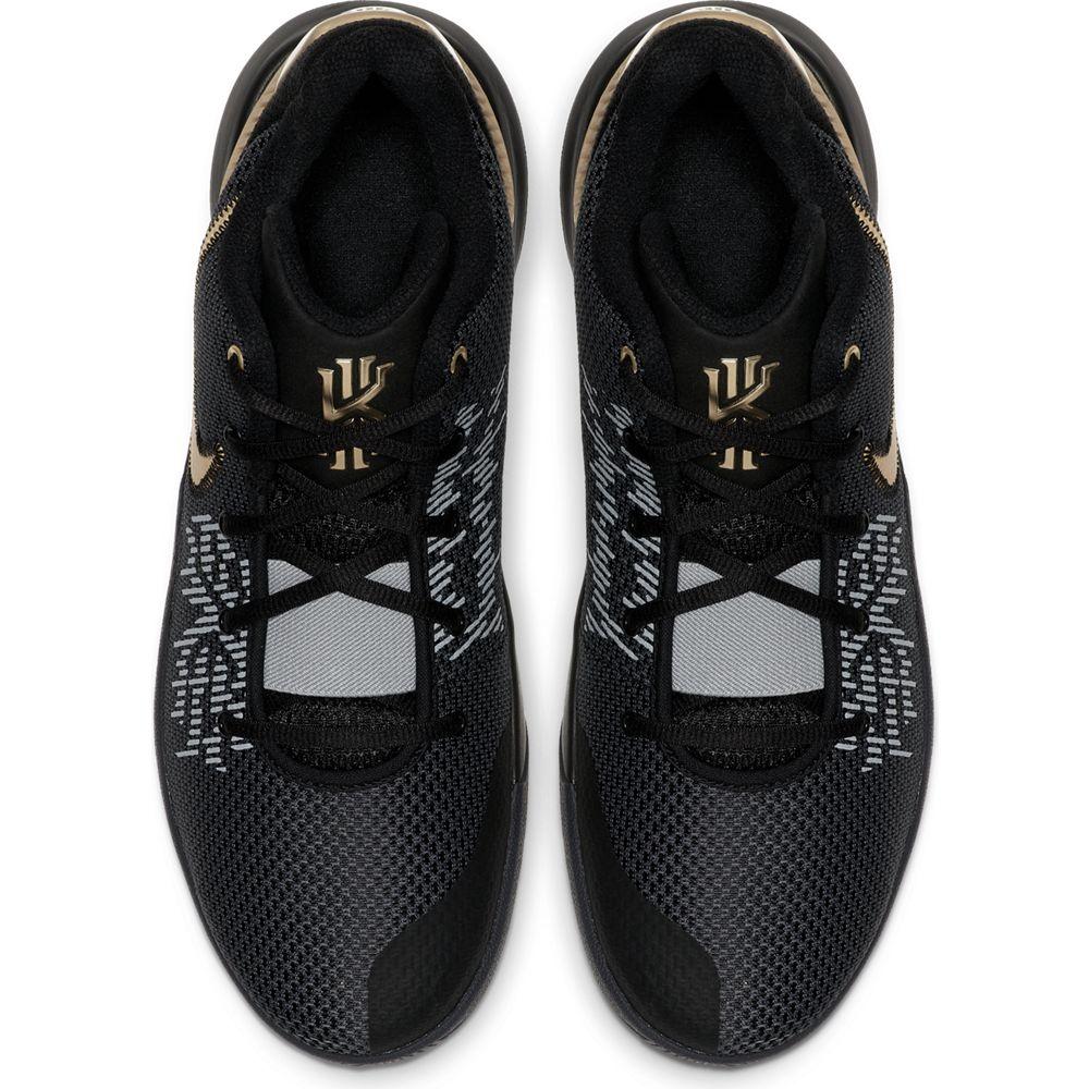 ナイキ NIKE メンズ バスケットボールシューズ カイリーフライトップ2 KYRIE FLYTRAP EP 2 AO4438-002 ブラック/メタリックゴールド 19FA