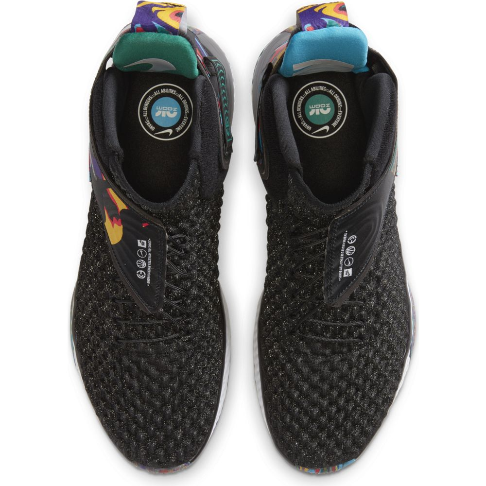 NIKE ナイキ Air Zoom UNVRS FlyEase バスケットボールシューズ CQ6422-001(BLACK/WHITE-BLACK-CURRENT BLUE) 20SS