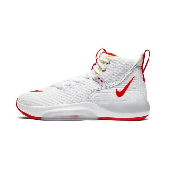 ナイキ NIKE バスケットボールシューズ  ナイキ ズーム ライズ BQ5467-100 ホワイト/オーロラ/レッドオービット 19FA