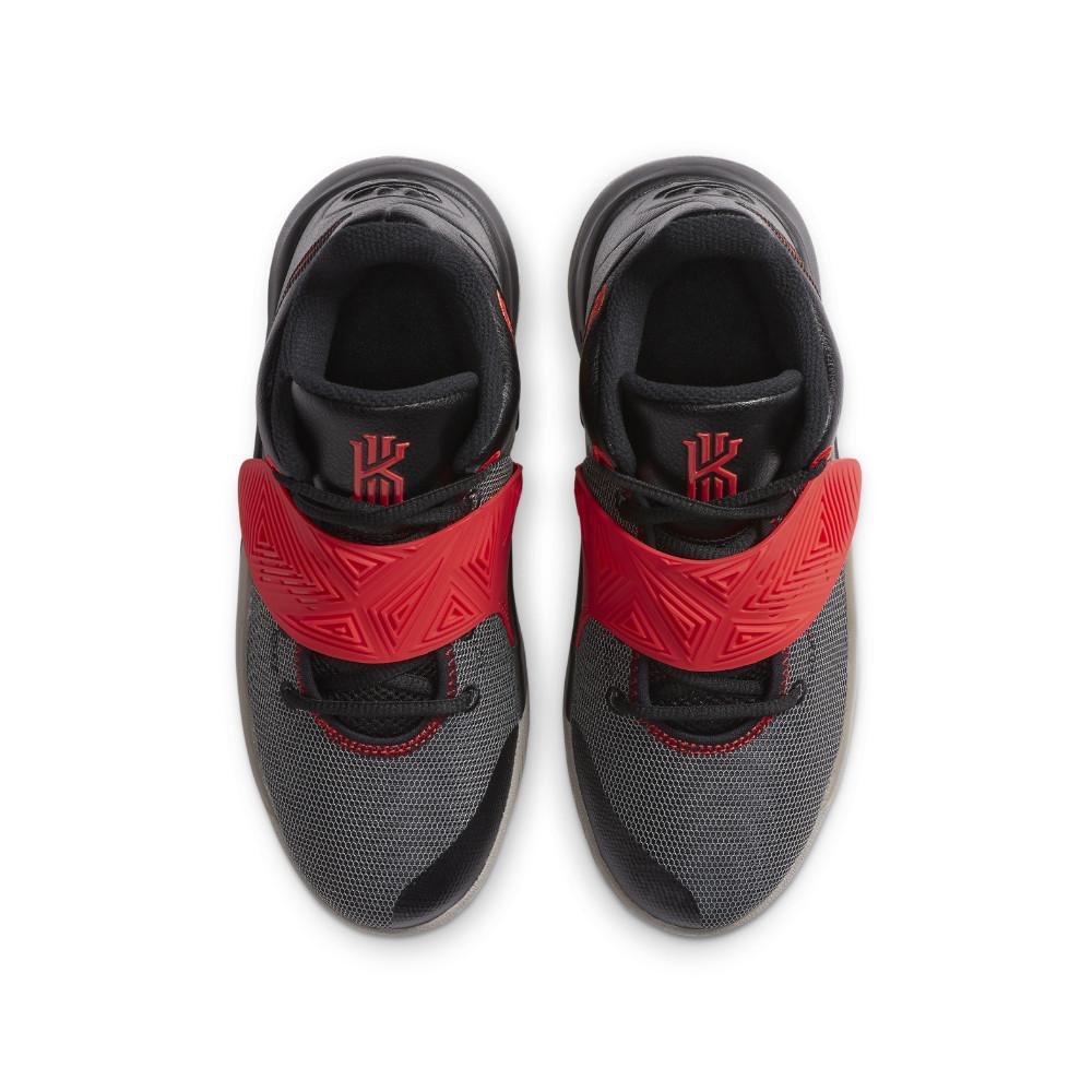 NIKE ナイキ カイリー フライトラップ 3 GS ジュニアバスケットボールシューズ BQ5620-011(ブラック/カメリア/チリレッド/エニグマストーン) 20FAモデル!