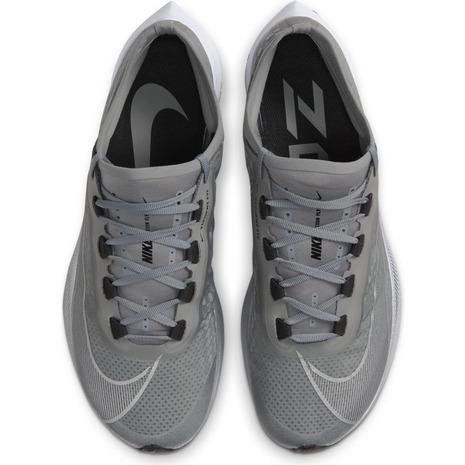 NIKE ナイキ ズーム フライ 3 ランニングシューズ AT8240-009(パーティクルグレー/ブラック/ホワイト/メタリックシルバー) 20HOモデル!!