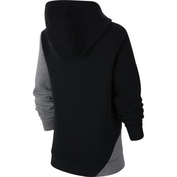 NIKE ナイキ YTH コア アンプリファイ プルオーバー ジュニア スウェットシャツ CJ7870-010(ブラック/カーボンヘザー/(ホワイト)) 20SS