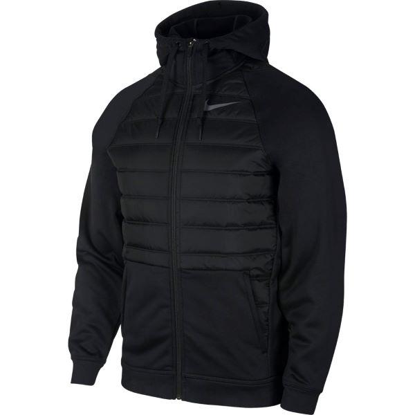 ナイキ NIKE メンズ  ナイキ サーマ  フルジップ トレーニングジャケット BV6299-010 ブラック/ブラック/ダークグレー 19HO