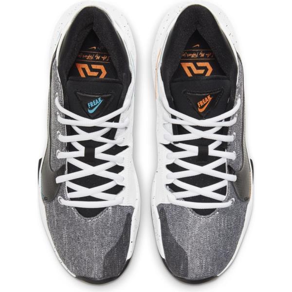 NIKE ナイキ ズーム フリーク 2 バスケットボールシューズ CK5424-101(ホワイト/ブライトマンゴー/ブラック) 21SSモデル!!