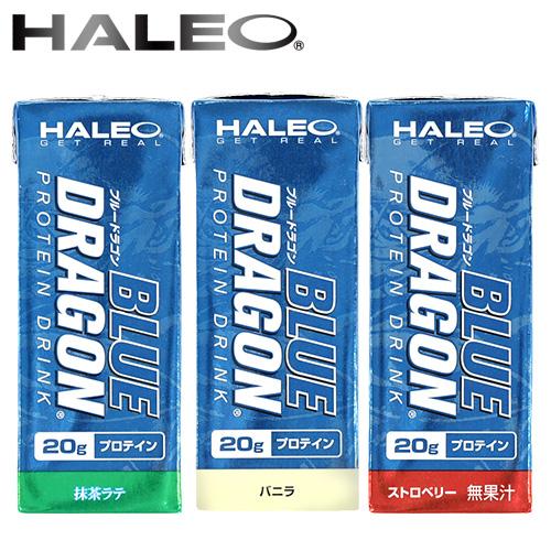 HALEO BLUE DRAGON(ハレオ ブルードラゴン)プロテインドリンク(200mlx24本)