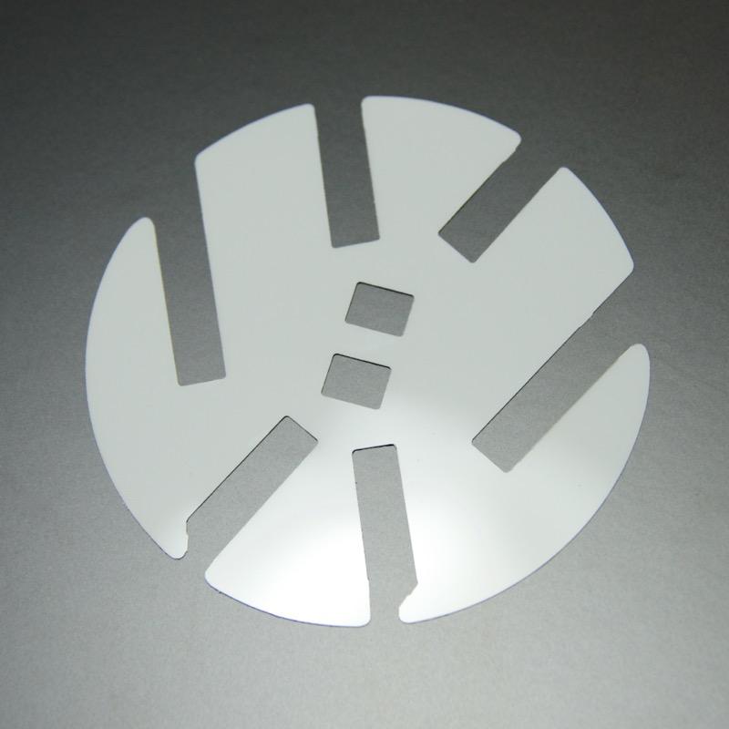 6CポロフロントVW用「カラード・プレート」
