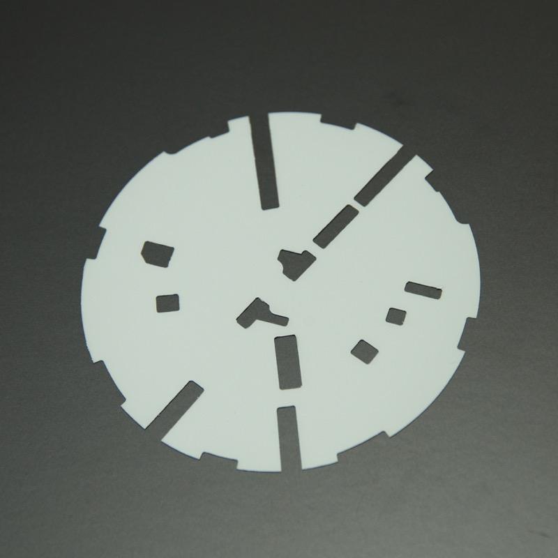6CポロリアVW用「カラード・プレート」