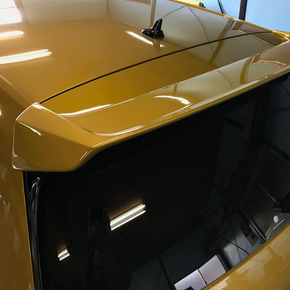iSWEEP ゴルフ7 / 7.5 GTI・R ルーフウィングエクステンション(塗装工賃込み)