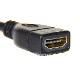 HDMI延長ケーブル  1.4規格   3.0m   A(オス)-A(メス)   金メッキ端子 (イーサネット対応・Type-A) フルハイビジョン・3D・4K 送料無料【メール便の場合】