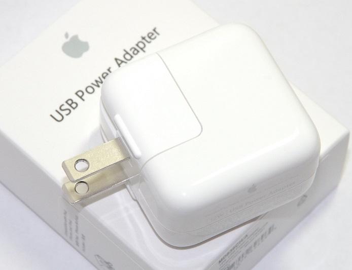 【アップル純正品】Apple 充電器 12W USB電源アダプタ Apple製品充電に MD836CH/A 並行輸入品