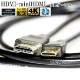 HDMI ケーブル HDMI -ミニHDMI端子 ニコン HC-E1互換品 1.4規格対応 2.0m ・金メッキ端子 (イーサネット対応・Type-C・mini)  送料無料【メール便の場合】