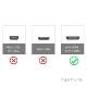HDMI ケーブル HDMI (Aタイプ)-ミニHDMI端子(Cタイプ) JVCビクター機種対応  1.4規格対応 1.5m ・金メッキ端子 (イーサネット対応・Type-C・mini)  送料無料【メール便の場合】