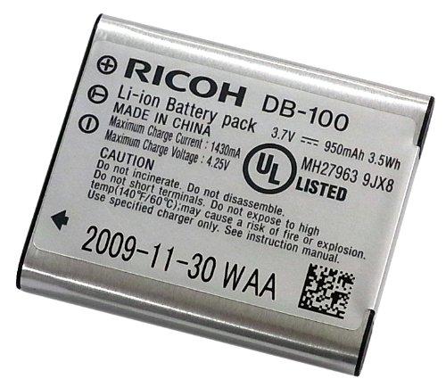 リコー  DB-100 リチャージャブルバッテリー 純正   送料無料【ゆうパケット】 DB100充電池