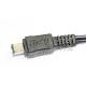 Canon製品対応 iVIS用USB電源供給ケーブル CA-110対応商品に適合 充電・モバイルバッテリーからの電源供給に CANON iVISMINI等 送料無料【ゆうパケット】