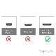 SANYO サンヨー対応  HDMI ケーブル HDMI (Aタイプ)-ミニHDMI端子(Cタイプ) 2.0規格対応 1.2m  (イーサネット対応・Type-C・mini)  銀色