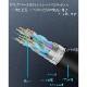 【互換品】LG エルジー対応  HDMI ケーブル 高品質互換品 TypeA-A  2.0規格  1.5m  Part 2  18Gbps 4K@50/60対応  送料無料【メール便の場合】