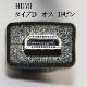 【互換品】GoPro対応 ゴープロ 高品質互換HDMI (Aタイプ)-microHDMI端子(Dタイプ) 1.4規格対応 5.0m ・金メッキ端子 送料無料【メール便の場合】