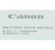 Canon キヤノン NB-6LH  純正・中国語表記版 S120などに 送料無料【ゆうパケット】NB6LHカメラバッテリー 充電池