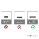HDMI ケーブル HDMI (Aタイプ)-ミニHDMI端子(Cタイプ) リコー/ペンタックス機種対応  1.4規格対応 5.0m ・金メッキ端子 (イーサネット対応・Type-C・mini)   送料無料【メール便の場合】