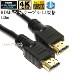 【互換品】SHARP シャープ対応  HDMI ケーブル 高品質互換品 TypeA-A  1.4規格  1.0m  Part 2 イーサネット対応・3D・4K 送料無料【メール便の場合】