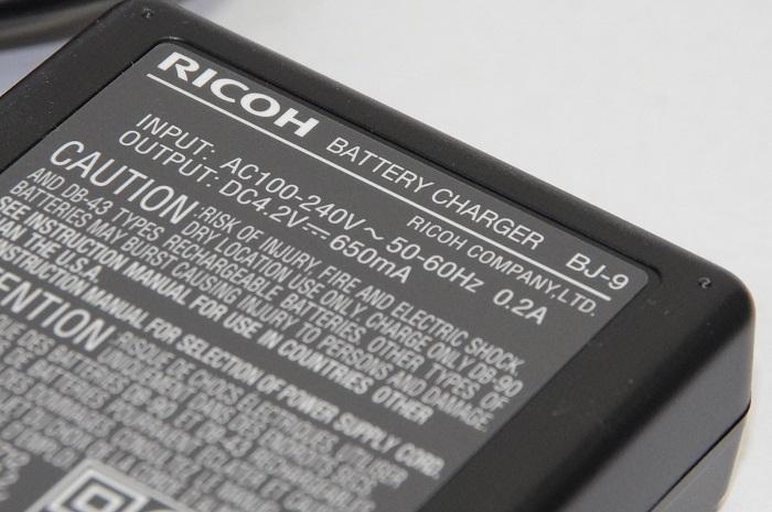 RICOH リコー バッテリーチャージャー BJ-9  DB-90対応充電器