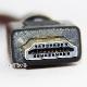 【互換品】三菱電機対応  HDMI ケーブル 高品質互換品 TypeA-A  1.4規格  1.0m  Part 1 イーサネット対応・3D・4K 送料無料【メール便の場合】