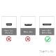 OLYMPUS オリンパス対応  HDMI ケーブル HDMI (Aタイプ)-ミニHDMI端子(Cタイプ) 2.0規格対応 1.2m  (イーサネット対応・Type-C・mini)   黒色