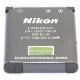 Nikon ニコン EN-EL10 純正 送料無料【ゆうパケット】   ENEL10カメラバッテリー 充電池