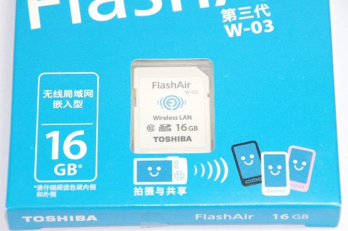 東芝 TOSHIBA  無線LAN搭載 FlashAir III Wi-Fi SDHCカード 16GB 海外パッケージ版 Class10 日本製
