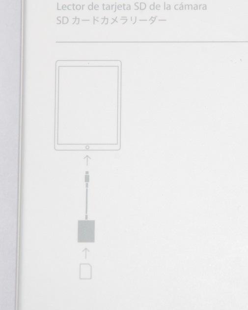 アップル純正  Apple  Lightning - SDカードカメラリーダー MJYT2AM/A  国内純正品  iPhone/iPad/iPod対応  送料無料【ゆうパケット】