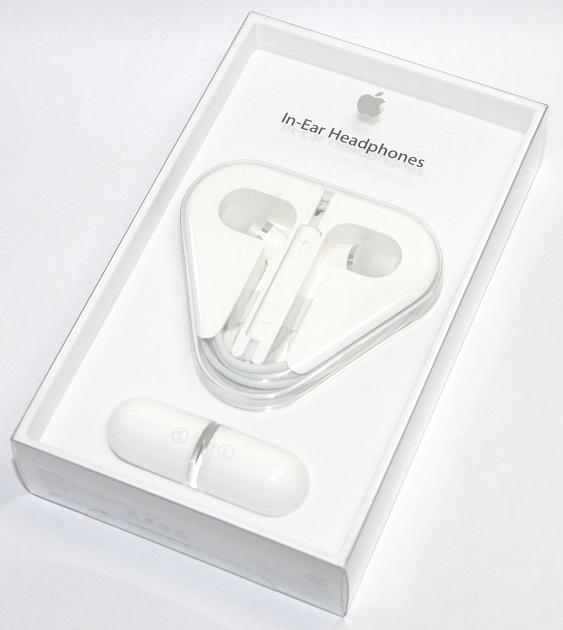 アップル純正 Apple In-Ear Headphones with Remote and Mic   ME186FE/A   国内純正品  iPhone/iPad/iPod対応