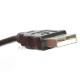 【互換品】Panasonic パナソニック K2KYYYY00141 高品質互換 USB接続ケーブル  1.0m
