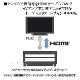 SONY HDMIケーブル 1.0m スリムケーブル ブラック DLC-HE10S B  翌日配送対応