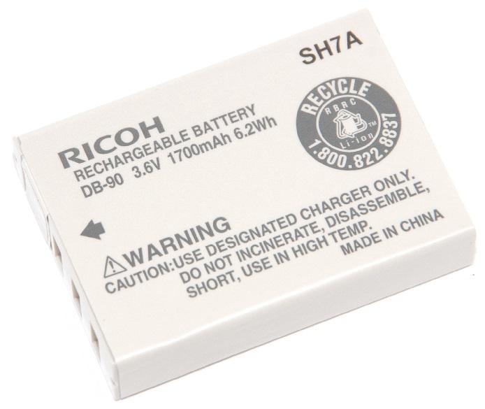 RICOH リコー  リチャージャブルバッテリー DB-90  純正品 海外表記版