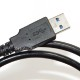 【互換品】Panasonic パナソニック K2KYYYY00245 高品質互換 USB接続ケーブル  1.0m