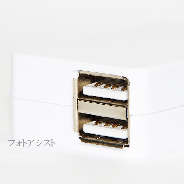 【互換品】 JVC ビクター対応 USB ACアダプター A-Type 2ポート 5V 最大2.1A 送料無料【メール便の場合】