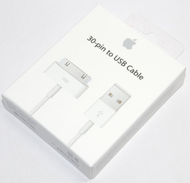 アップル純正 Apple  30ピン - USBケーブル  MA591G/C  国内純正品  iPhone/iPad/iPod対応 送料無料【ゆうパケット】