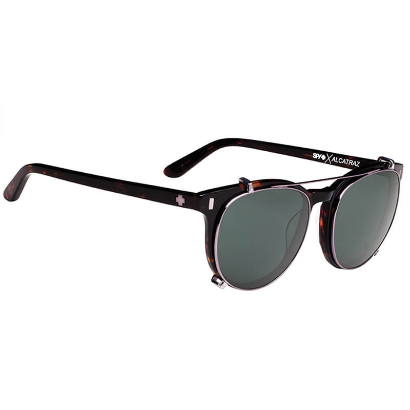 <30%OFF!!> SPY SUNGLASSES スパイ サングラス ALCATRAZ アルカトラズ DARK TORT - HAPPY GRAY GREEN POLAR CLIP