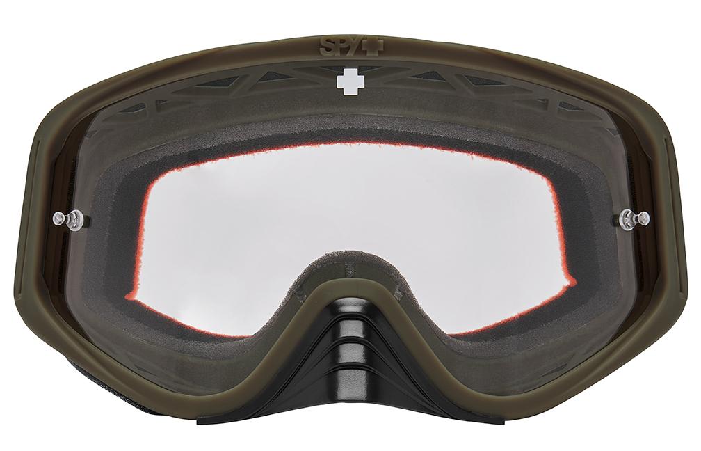 SPY スパイ MX GOGGLES モトクロスゴーグル バイク WOOT RACE ウートレース Reverb Tan  リバーブ タン  HD Clear 3200000000028