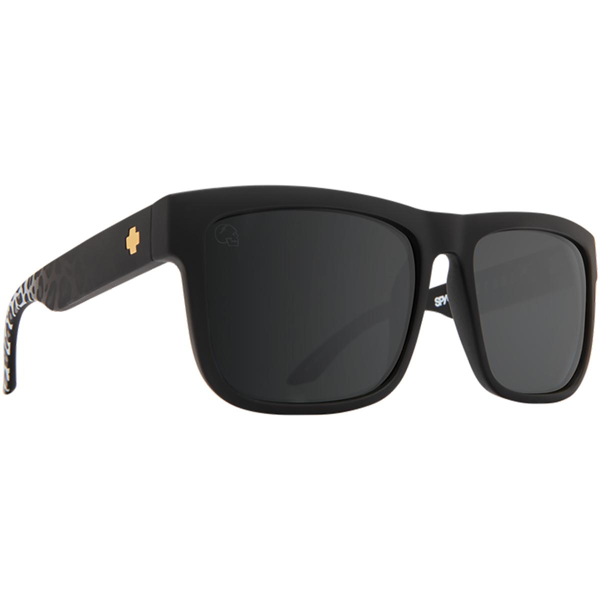 SUNGLASSES サングラス DISCORD ディスコード SLAYCO | MATTE BLACK LEOPARD FADE - HAPPY GRAY GREEN w/ SILVER FLASH 673119150713