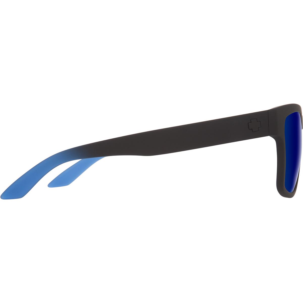 SPY SUNGLASSES スパイ サングラス HAIGHT 2 ヘイト SOFT MATTE BLACK/BLUE FADE - HAPPY GRAY GREEN w/ DARK BLUE FLASH 673232282706