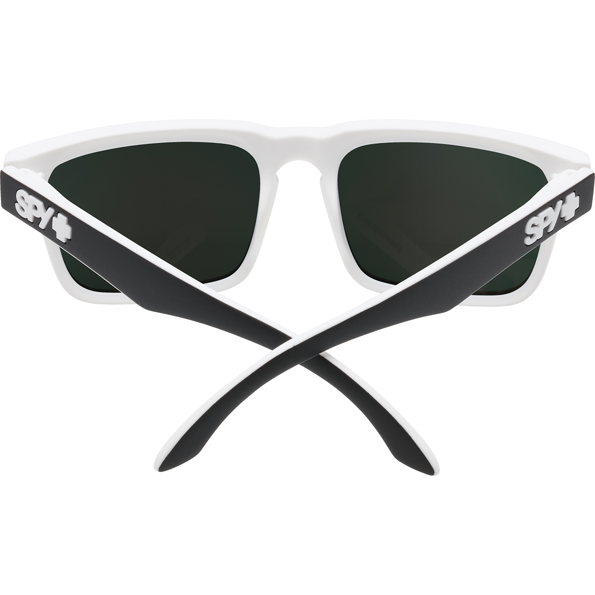 SPY SUNGLASSES スパイ サングラス HELM ヘルム WHITEWALL - HAPPY GRAY GREEN w/ RED SPECTRA 673015209365