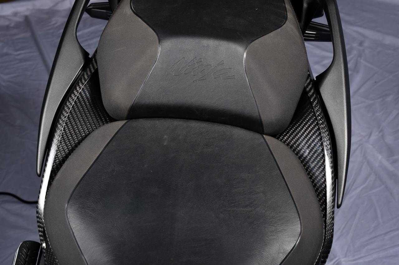 SPEEDRA シートサイドカウル 左右セット ドライカーボン