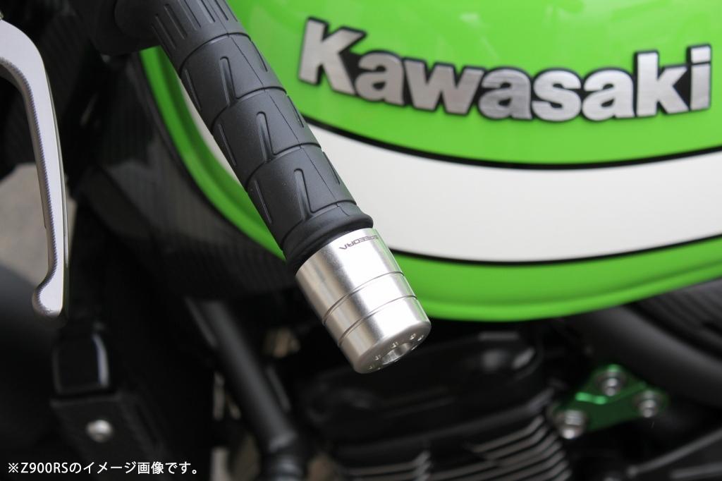 SPEEDRA ステンレス削り出しハンドルバーエンド KAWASAKI M8