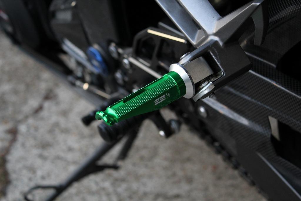 SPEEDRA アルミ削り出しタンデムステップ レーシングタイプ パッセンジャー用
