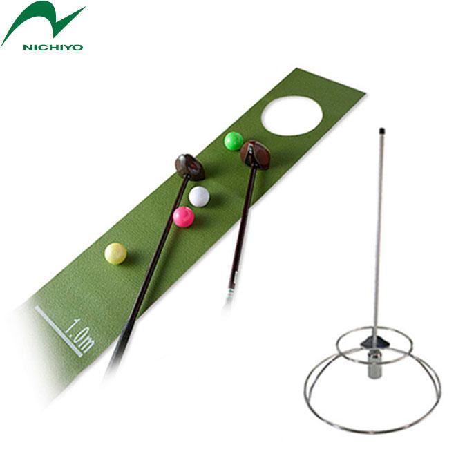 グラウンドゴルフ ホールインワン自宅練習マット&ホールポストセット限定品 グラウンドゴルフに最適 グラウンドゴルフ 用品