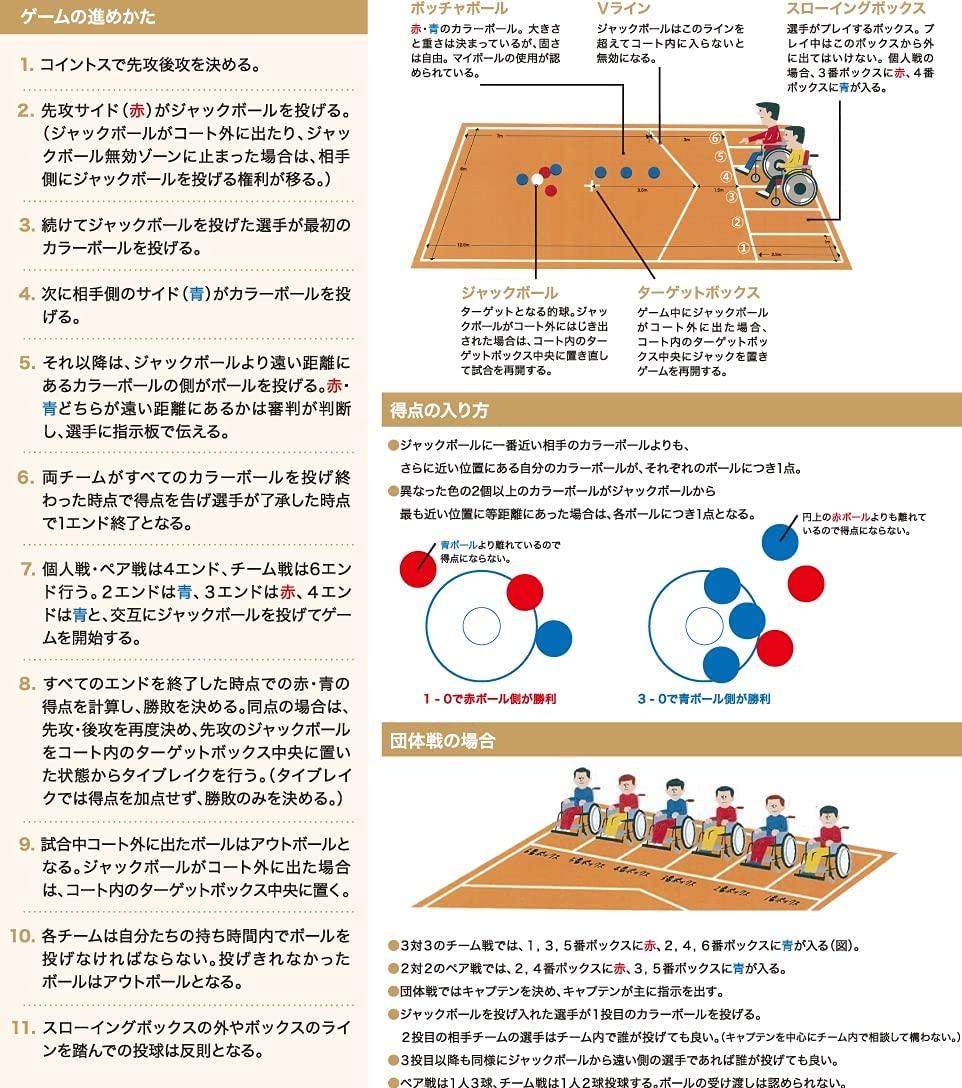 ボッチャ ゲーム用ボールセット(レクリエーション用)RBC-BS  スポーツ用品