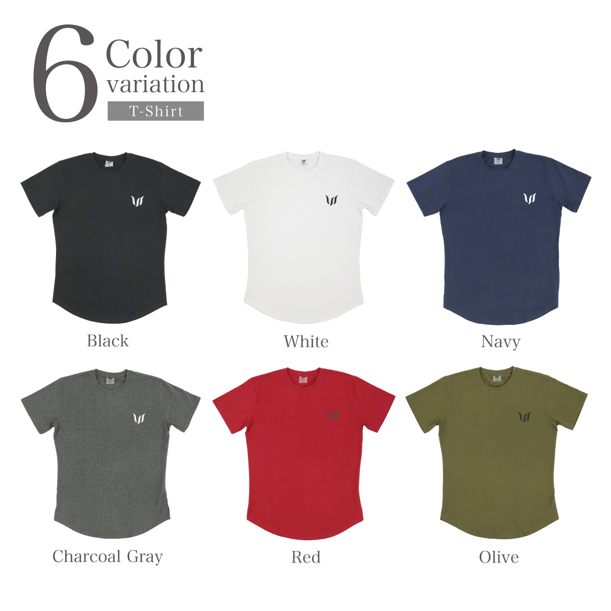 NORMAL SHORT TEE - OLIVE