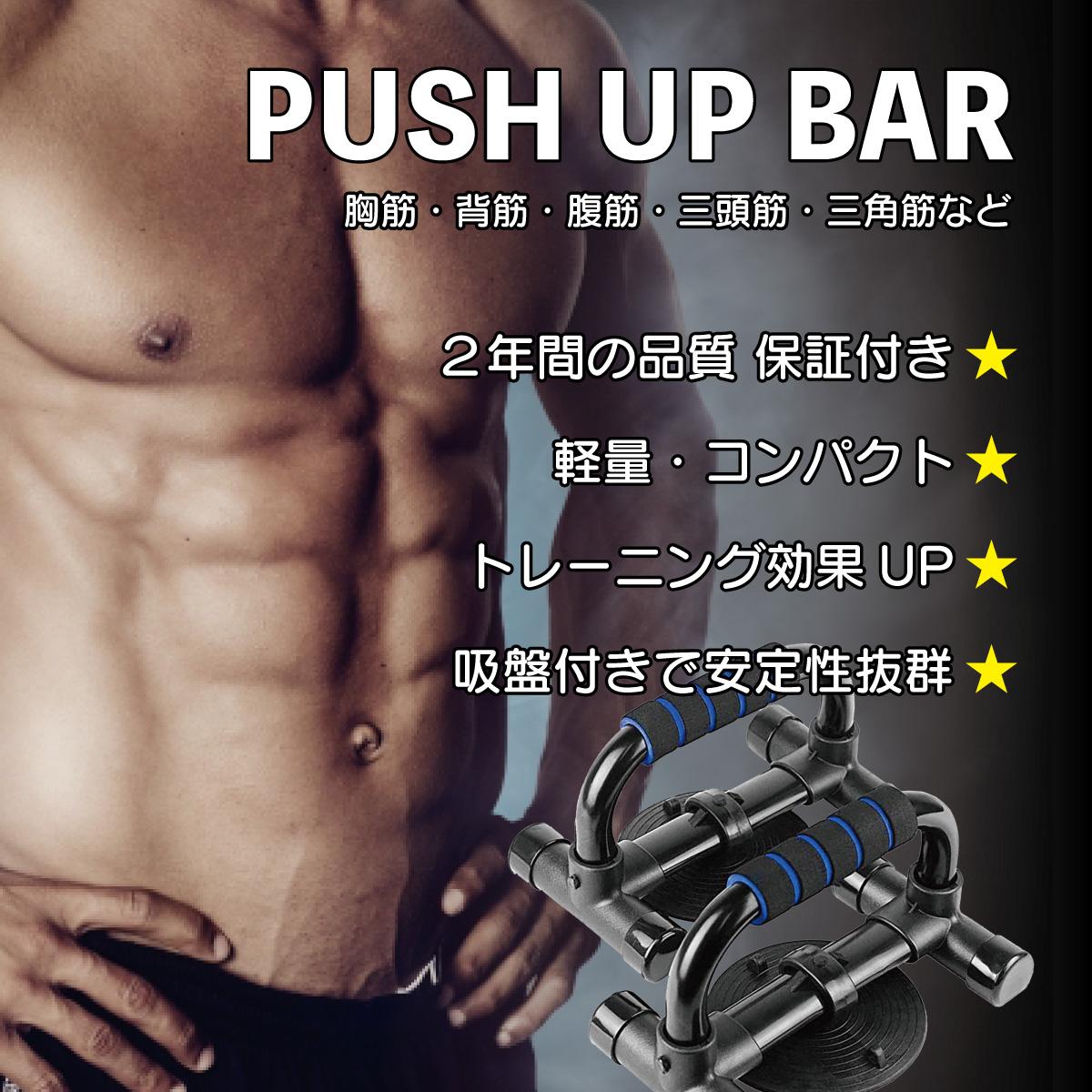 PUSH UP BAR - BLUE